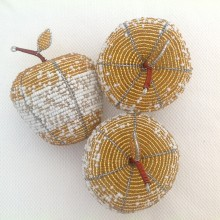 Beaded Wire Craft Apple