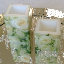 Vintage Romantic Candles (2 Pack)
