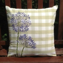 Agapanthus Design Scatter Cushion