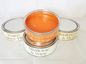 festive 3 wick candle cinnamon mulled wine frankincense mince pie