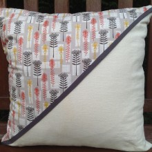 Cream Protea Design Cushion