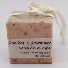 Rooibos Tea Soap on-a-rope