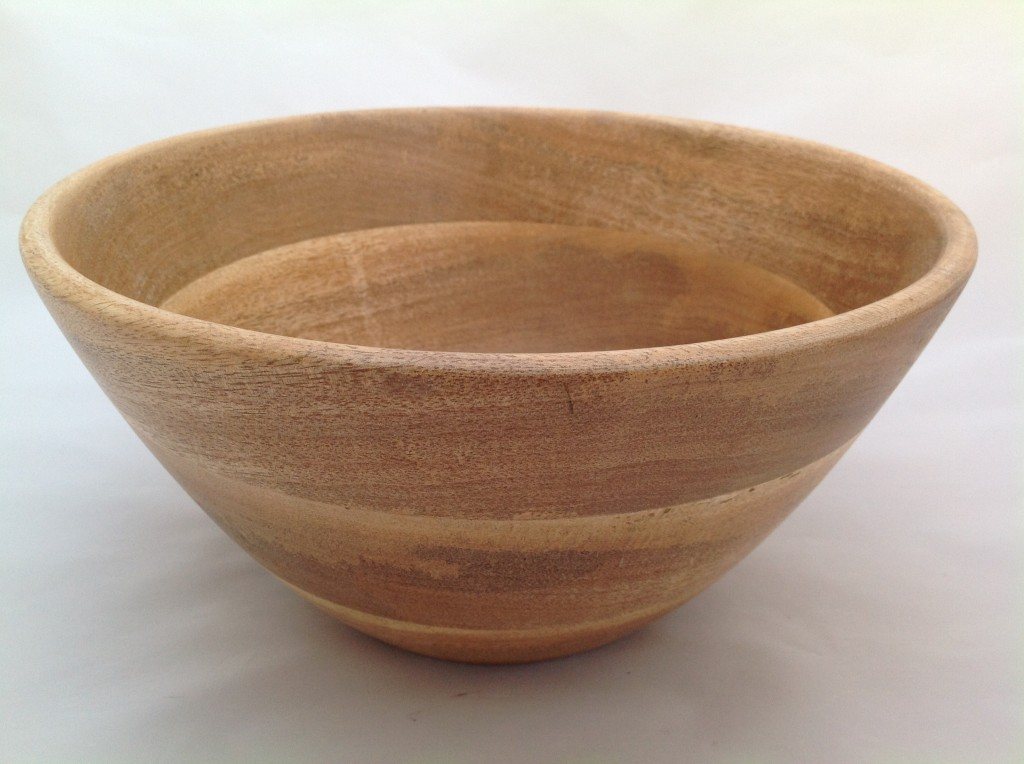 Indus wooden bowl side