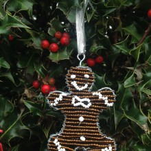 Christmas Tree Decoration Gingerbread Man