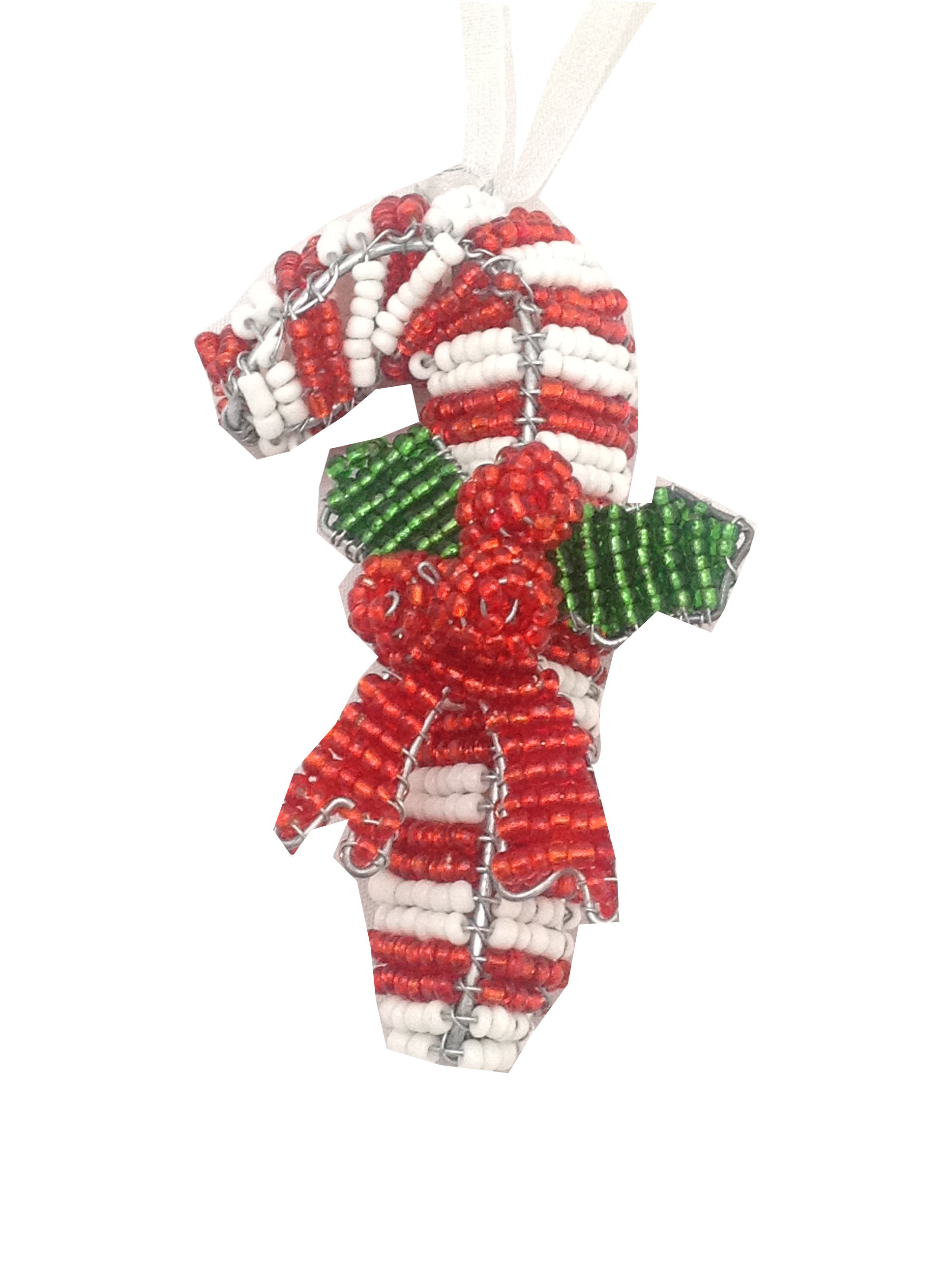 christmas tree decoration candy cane cutout auradecor designs