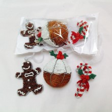 Christmas Tree Decorations – 3 pack