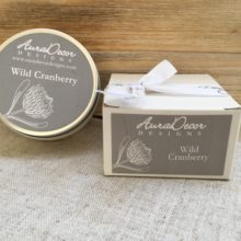 Natural Wax Candle With Essential Oils – Travel Size