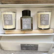 Reed Diffuser Candle Gift Set