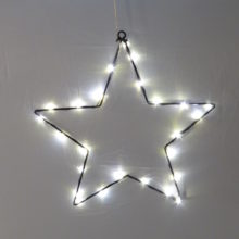Metal Star Light Ornament