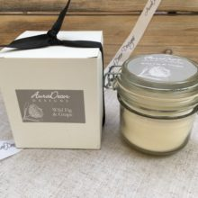 Natural Wax Storage Jar Candle