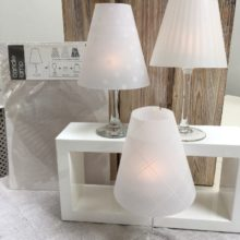 Tea Light Lampshade Trio