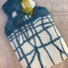 Pure Wool Hot Water Bottle Cover