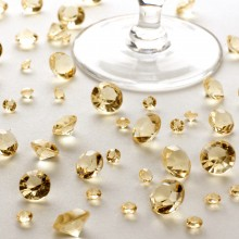 Table Crystals Gold