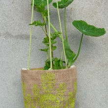 Small Jute Potplant Holders 10cm (2)