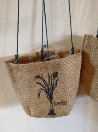 Large Jute Potplant Holder 15cm