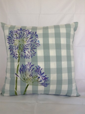 Agapanthus Design Cushion