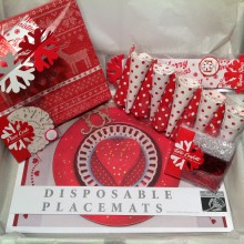 Christmas Table Decor Set – 'Joy'