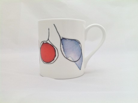 Fine Bone China Mug – Hedgerow