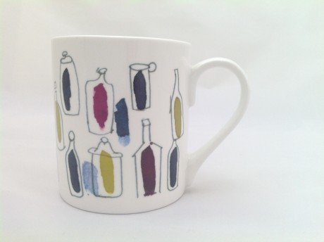 Fine Bone China Mug – Wild Wine