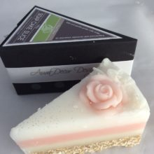 Natural Goats Milk Soap with Oatmeal Layer