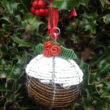 Christmas Tree Decoration – Christmas Pudding