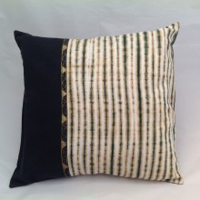 Tan & Black Stripe Cushion