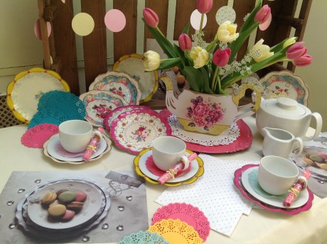 Tea Party Table Decor Set