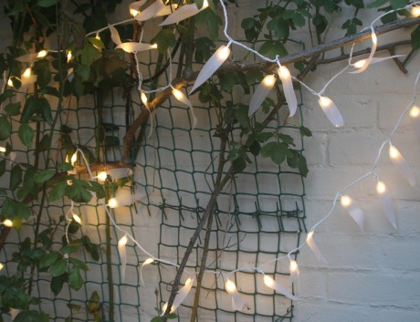 Outdoor Light Chain – Leaf Fantasy