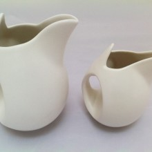 Cream Ceramic Jug – Stoneware