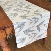 Hand Printed Fabric Table Runner