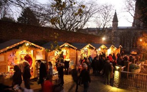 Christmas Market St Albans photo by leaping hare