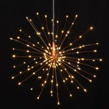 Copper Starburst Light