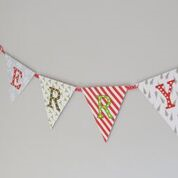 Light Up Christmas Bunting Banner