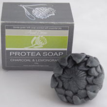 Protea shaped Goats Milk Soap